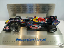 Minichamps 1:18 - Sebastian Vettel 2010 - Red Bull F1 Grand Prix Legends display