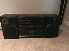 Sony CFD-454 Ghetto Blaster Boombox Radio Cassette Cd Player Stereo