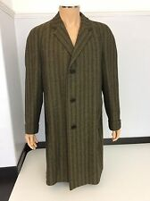 Aquascutum Men's Vintage Lambswool Tweed Coat, Jacket, Overcoat, XL, Immaculate
