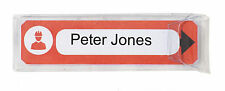 Portwest ID12 Vital ID Medical Information Contact Red Helmet Tag