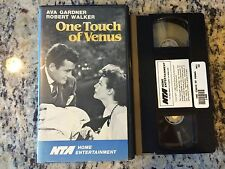 ONE TOUCH OF VENUS OOP VHS! B&W 1950 AVA GARDNER STORE MANNEQUIN COMES TO LIFE!