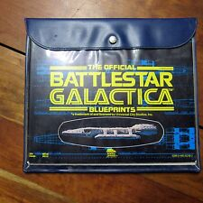 The Official Battlestar Galactica Blueprints Today Press 1978 Complete