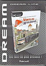 VIRTUAL RAILROAD 2 JEU PC NEUF/CELLO POUR WINDOWS 95/98/ME/XP
