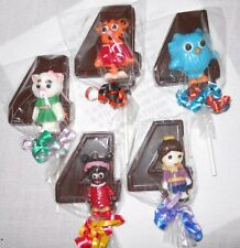 12 Daniel Tiger 4th Birthday Party Favors Gourmet chocolate Lollipops