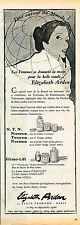 PUBLICITE ADVERTISING 104  1956  ELISABETH ARDEN   cosmétiques