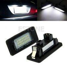 2 x Error Free 24-LED License Plate Light For BMW E90 M3 E92 E70 E39 F30 E60 E93