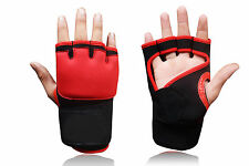 New MMA Imbottitura Gel Guanti Grappling UFC Muay Thai Kick Boxing Neoprene