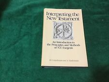 Interpreting the New Testament Conzelmann Lindemann 1992 Hardcover