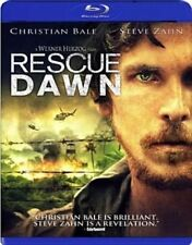 Blu Ray RESCUE DAWN. Christian Bale. UK compatible. New sealed.