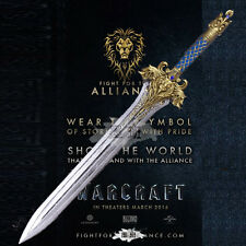 World of warcraft  Lane  the king's sword 1:1 Resin material The replica 110CM