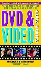 DVD and Video Guide 2005 by Marsha Porter and Mick Martin (2004, Paperback)