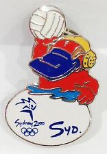 SYDNEY OLYMPIC GAMES 2000 MASCOT SYD WATER POLO PIN BADGE #695