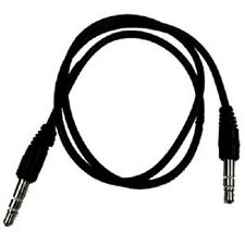 1.5M -3.5mm Jack Plug To Plug Male Cable - Audio Lead For Headphone/Aux/MP3/iPod