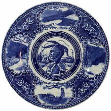 RARE! Rowland & Marsellus Staffordshire Plate - The Mohawk Indian