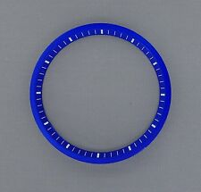 Blue SEIKO 7002 Chapter Ring (minute track- mod parts) Brand New.