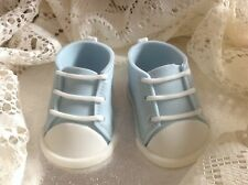 Handmade, sugar paste, Icing, fondant, cake topper, decoration, baby shoes