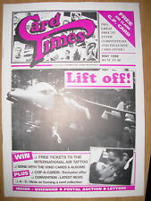 CARD TIMES MAGAZINE FORMERLY CIGARETTE CARD MONTHLY No 78 MAY 1996