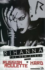 RIHANNA poster - RATED R  promo poster - 11 x 17 inches