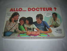 GAY PLAY  Allo Docteur ?  jeu vintage  complet