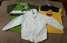 lot of 3 boys size 4T long sleeve and short sleeve shirts