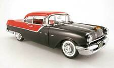 1:18 Sun Star Red and Black 1955 Pontiac Star Chief Item # 5042 Sunstar GM