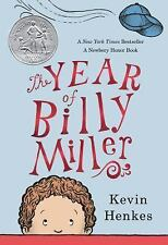 The Year of Billy Miller by Kevin Henkes (2015, Paperback)