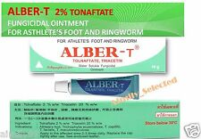 TOLNAFTATE ALBER-T ANTIFUNGAL OINTMENT ATHLETE S FOOT RINGWORM 10 G TUBE