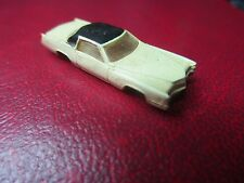 Vintage Plastic Miniature Bachmann Car Made in Hong Kong