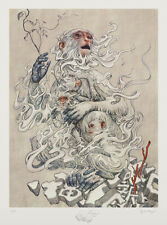 James Jean Year of the Monkey Signed Limited Edition Giclée Art Print SOLD OUT