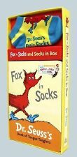 DR. SEUSS FOX IN SOCKS AND SOCKS IN A BOX- BRAND NEW YOUNG CHILD'S GIFT SET- MK