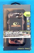 Authentic Griffin Survivor Mossy Oak for iPhone 5/5s Obsession Green Camo !!!!