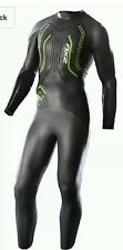 2XU A:1 Active WETSUIT - 4.5mm Thickness Men's Black/Green Size:Small BRAND NEW