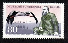 GERMANY MNH STAMP DEUTSCHE BUNDESPOST BERLIN 1984 ALFRED BREHM  SG B684