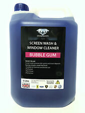 BUBBLEGUM SCENT Screenwash 5L Concentrated Concentrate 5 Litre Screen Wash