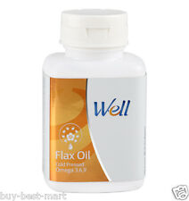 ModiCare Well Flax Oil capsules With Omega 3, 6, 9 - 90 softgels