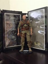 "Sideshow Gi Joe Rock N Roll Machine Gunner 1:6 Scale 12"" figure"