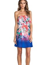 Nanette Lepore Swimsuit Cover-up Dress Fleur Sz L $196 NWT Multicolor