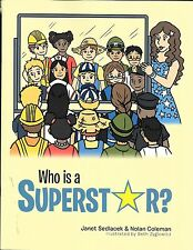 NEW Who Is a Superstar? by Janet Sedlacek Paperback Book (English) Free Shipping