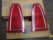 NOS OEM Ford 1965 Mercury Tail Light Lamp Lenses Marauder Park Lane Monterey