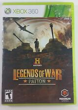 History Legends of War: Patton for Xbox 360 (2012)
