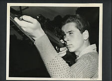 JACKIE COOPER SHOOTS HIS MAUSER RIFLE - 1938 CANDID - THAT CERTAIN AGE - GUN