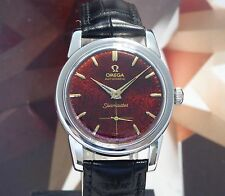 Vintage 1957 Men's Omega Automatic Seamaster 19 Jewels One Year Warranty