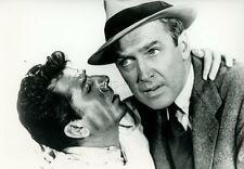 JAMES STEWART  ALFRED HITCHCOCK THE MAN WHO KNEW TOO MUCH 1956 VINTAGE PHOTO
