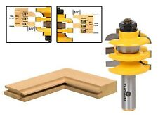Yonico 12119 Stacked Rail and Stile Router Bit with Cove 1/2-Inch Shank 1-Piece