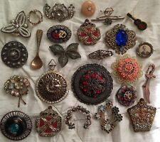 Lot Of Vintage Pins Brooches