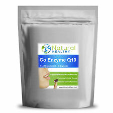 Co-Enzyme Q10 Coenzyme CoQ10 500mg Softgels Capsules Antioxidant Heart Energy