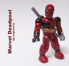 Mega Bloks custom action figure halo Marvel DEADPOOL NINJA SPIDERMAN