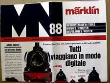 Catalogo Marklin novità News 1988 - Italiano   [G99A]