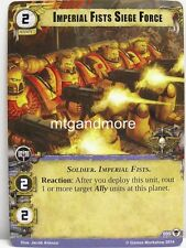 Warhammer 40000 Conquest LCG - Imperial Fists Siege Force  #095 - The Threat