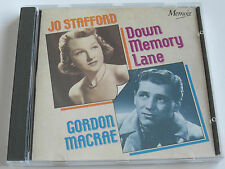 Jo Stafford & Gordon Macrae - Down Memory Lane (CD Album) Used Very Good